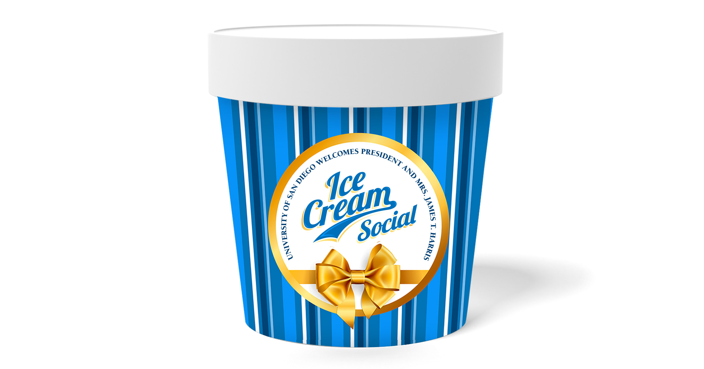 Ice Cream Social Container